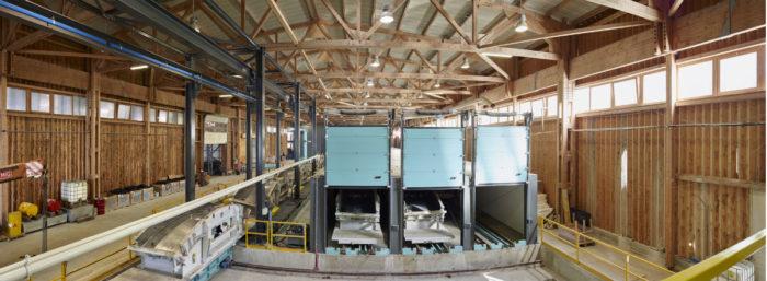 Zoom sur l'usine à voussoirs