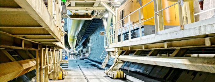 Le tunnelier «Federica» est en marche !